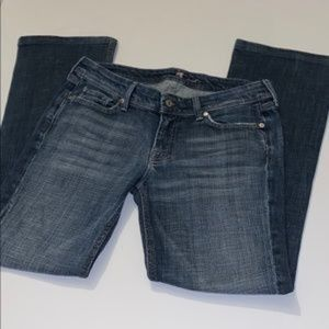 lily bangkok jeans size 30 7 for all mankind